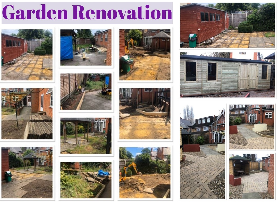 Garden Renovation and New Shed