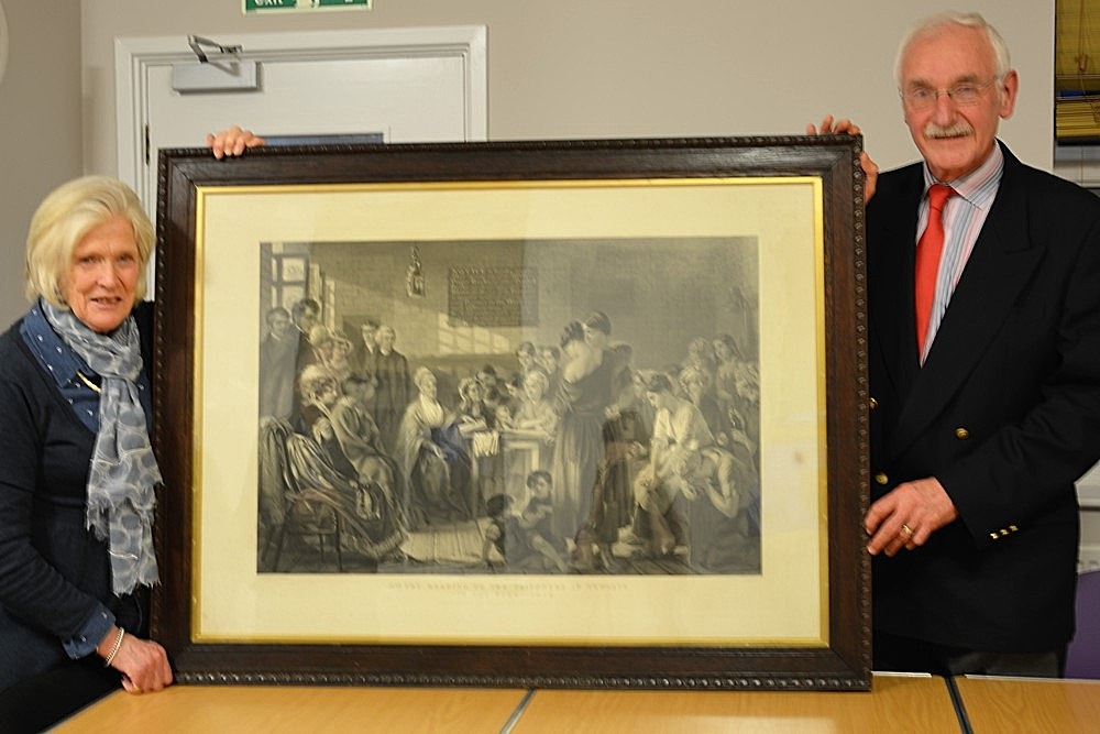 Descendants of Elizabeth Fry present us with an extraordinary painting